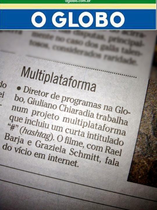 Hashtag O GLOBO